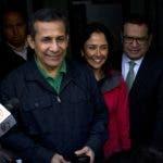 Ollanta Humala y su esposa  Nadine Heredia. AP/archivo.