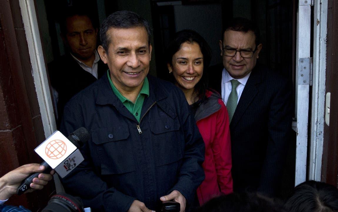 Juez peruano decide si envía a la cárcel a expresidente Ollanta Humala