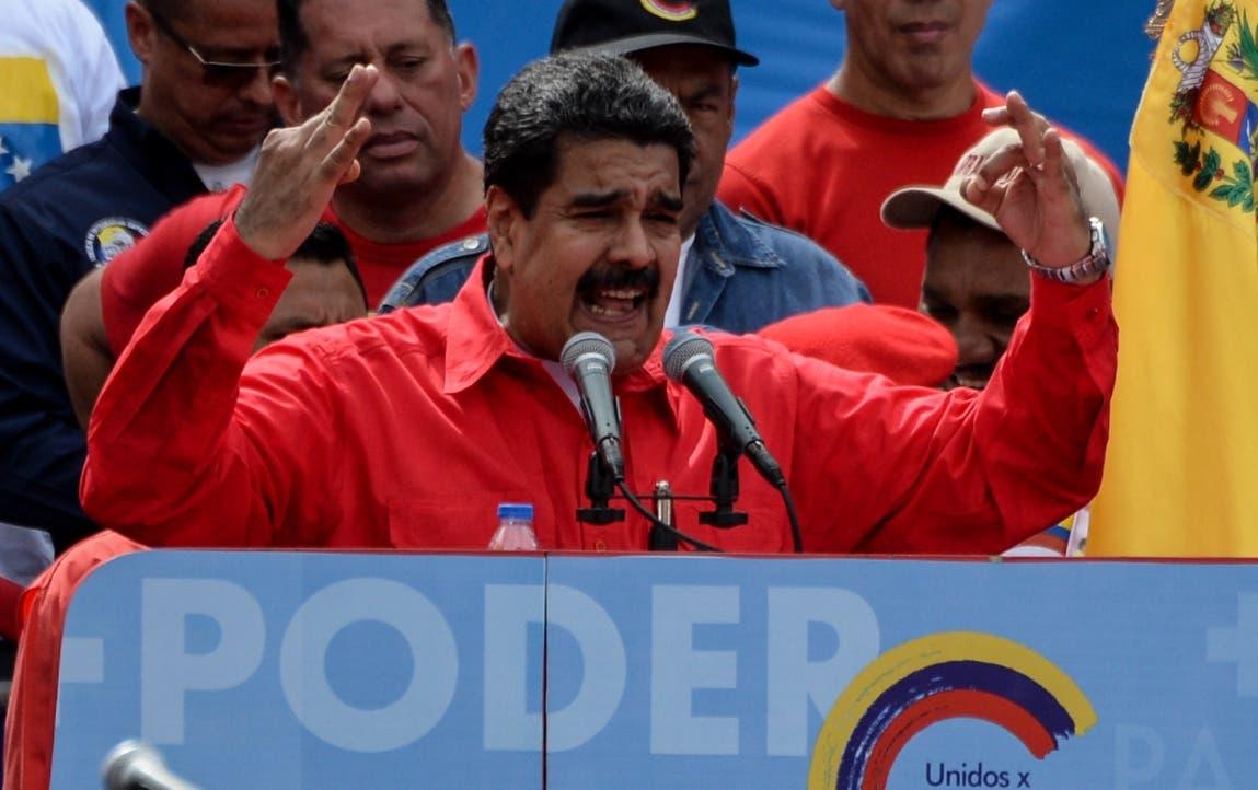 Maduro dice que se busca manchar resultados de Constituyente