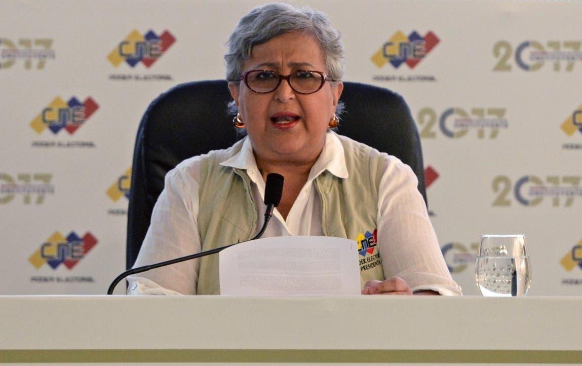 Tibisay Lucena. AFP