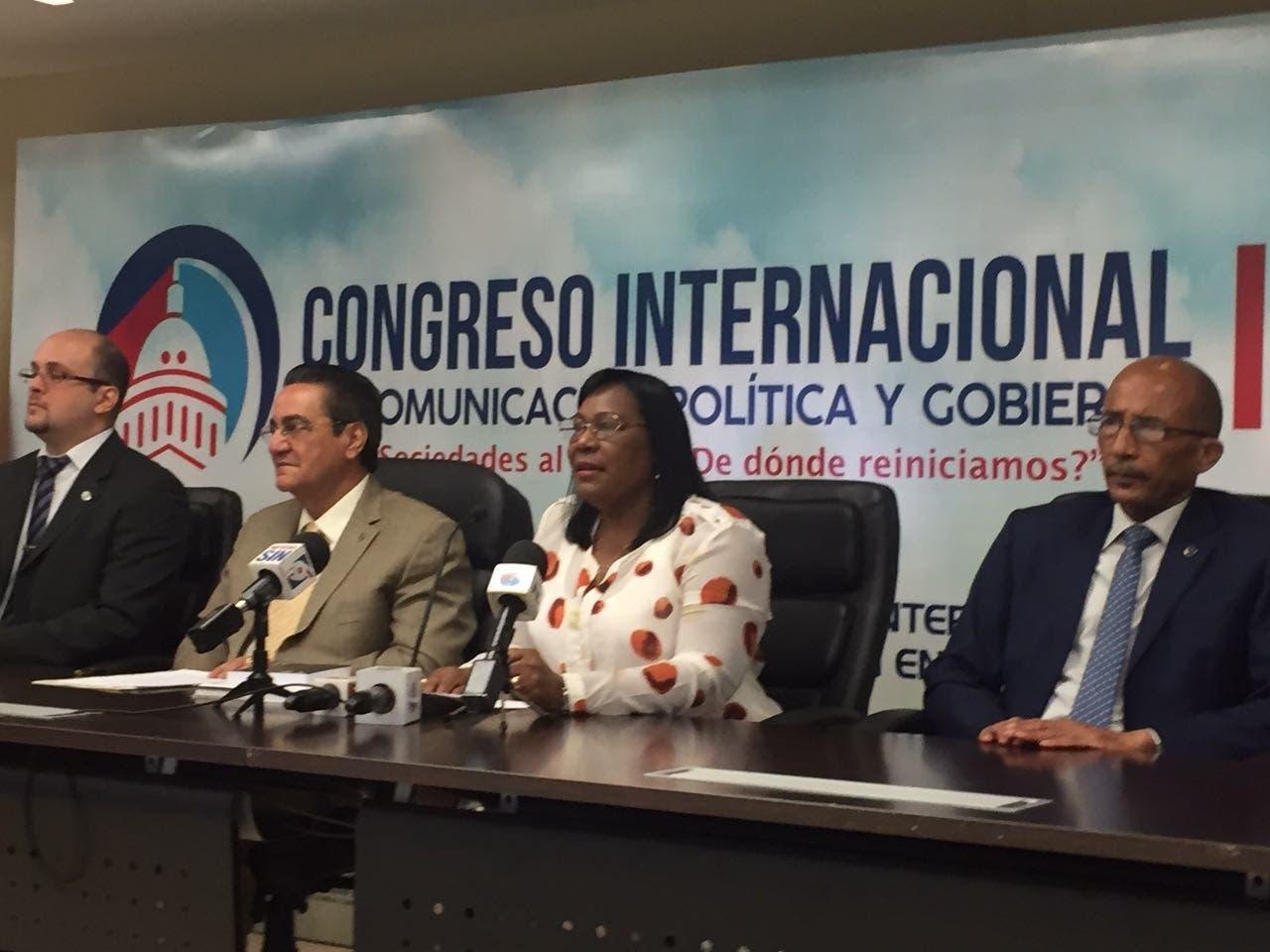 UASD anuncia congreso de comunicación política