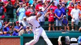 Beltré se convirtió en el primer jugador nacido en la República Dominicana en alcanzar ese hit y el número 31 en la historia del béisbol de las Grandes Ligas. Fotos: Fuente externa