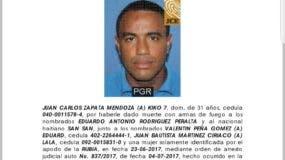 La persona fue identificada como Juan Carlos Zapata Mendoza.