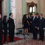 Los nuevos jueces fueron juramentados por el presidente Danilo Medina.