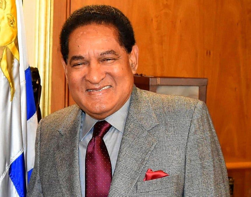 Luis Arias, embajador de República Dominicana en Uruguay. Archivo.