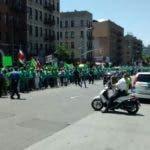 En New York también los dominicanos salieron a las calles a pedir el fin de la impunidad.