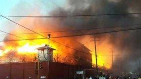 Incendio en prisión  Camp Street de Georgetown