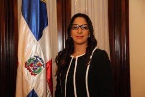 Rhina Alessandra Díaz Tejada, suplente de la miembro titular del TSE, Rafaelina Peralta