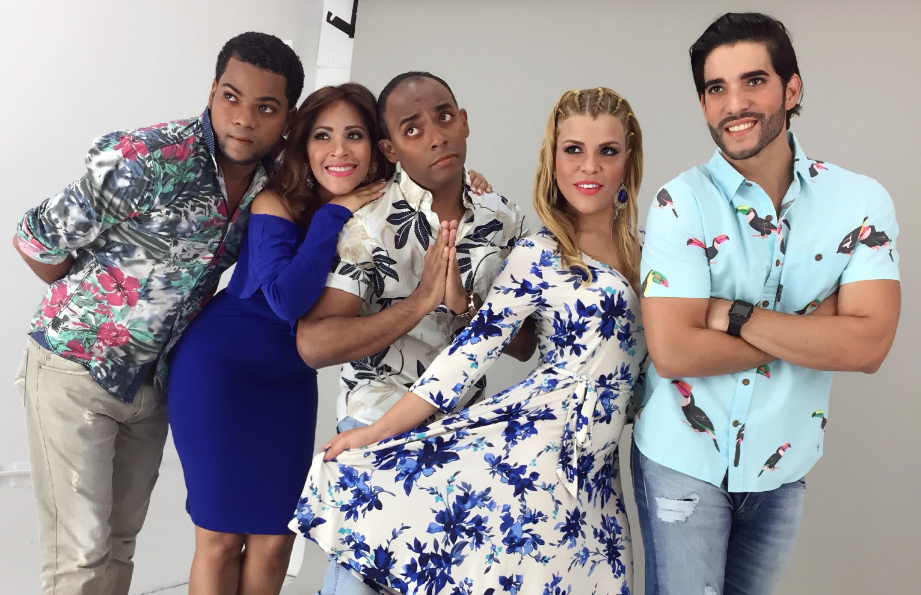 El equipo que comparte el programa con Sheila Acevedo.
