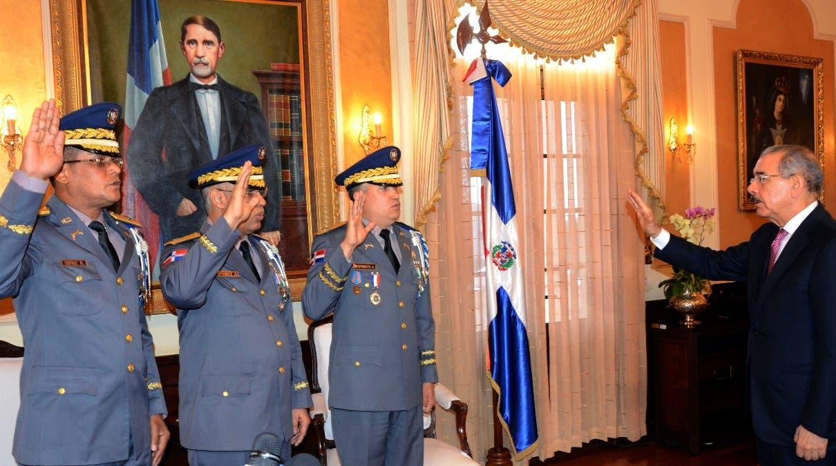 Tras ser juramentado el nuevo jefe policial también prometió dar prioridad a la prevención. José de León