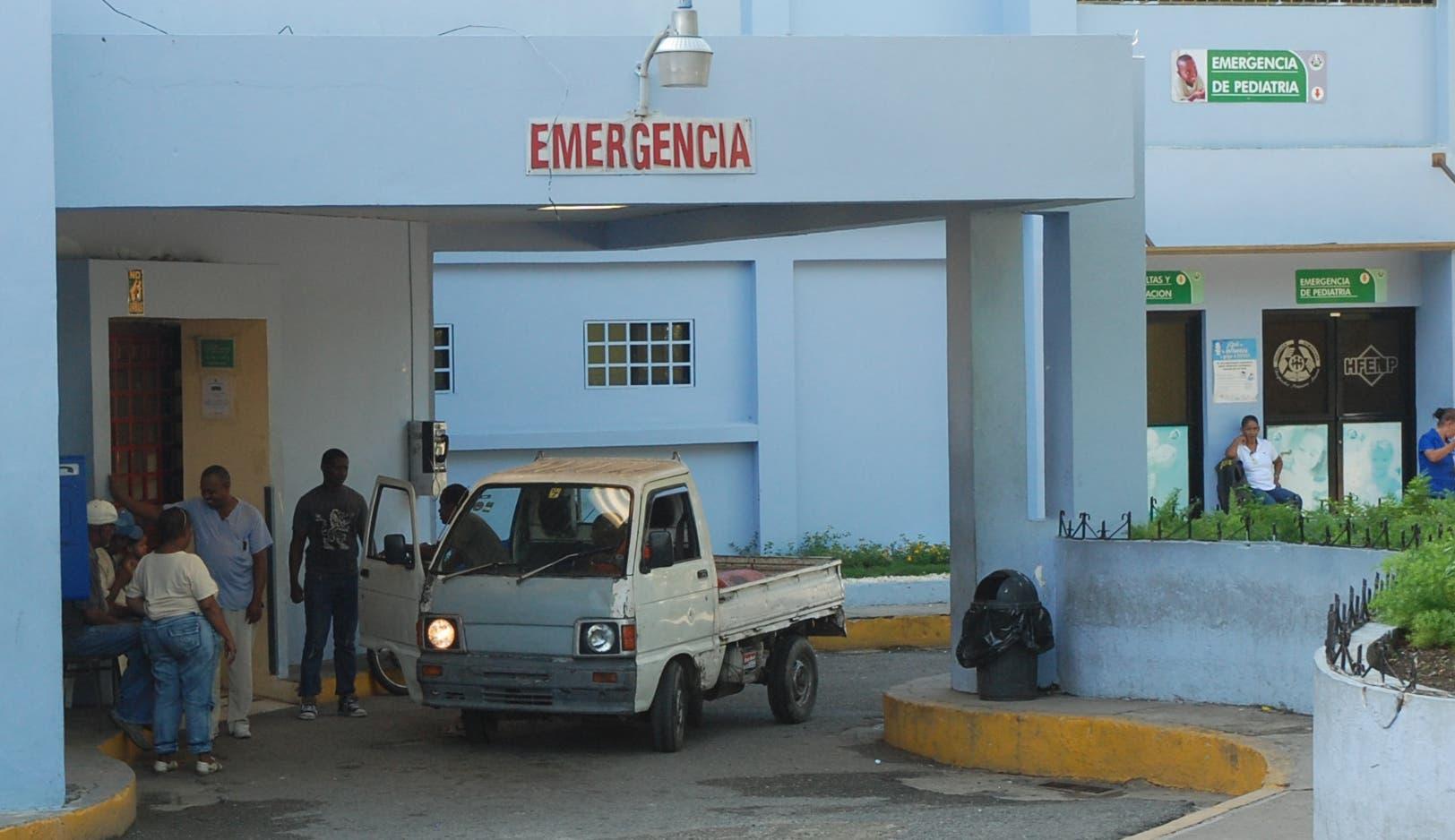Así luce la vieja  emergencia del Hospital Francisco Moscoso Puello que hoy día esta intervenida   ASDFD