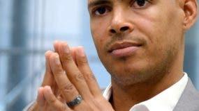 El atleta de velocidad Félix Sánchez, dos veces campeón olímpico en los 400 metros valla.