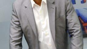 Félix Sánchez durante su comparecencia a  los Coloquios de EL DÍA.