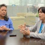 Onelia Aybar e Ysabel Reyes valoraron esfuerzos de autoridades.