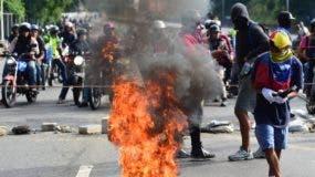 En Venezuela se han escenificado protestas desde hace 5 meses. ARCHIVO