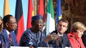 Los presidentes de Chad y Níger, Idriss Deby Itno piden más financiamiento de  socios europeos. AFP