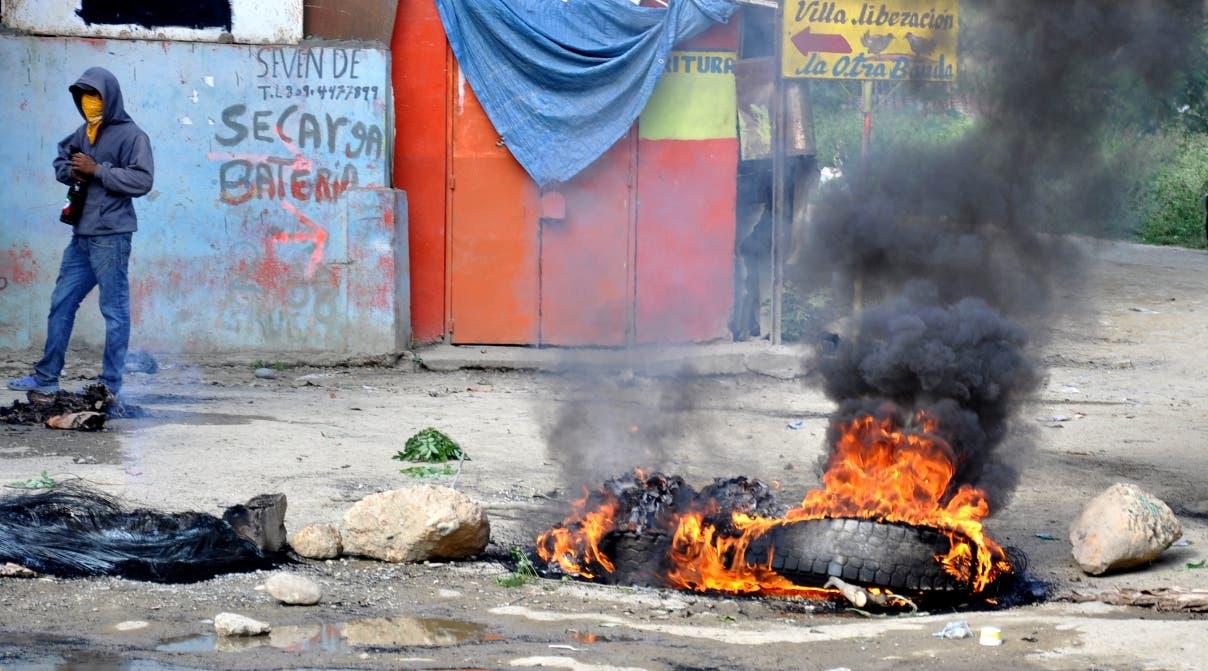 San Francisco de Macorís es la provincia donde se han registrado los mayores enfrentamientos.