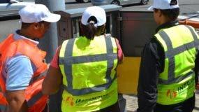 Brigadas trabajan en rehabilitación de los semáforos. fuente externa.