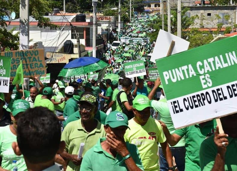 Marcha Verde hará marcha hasta planta Punta Catalina — BANI