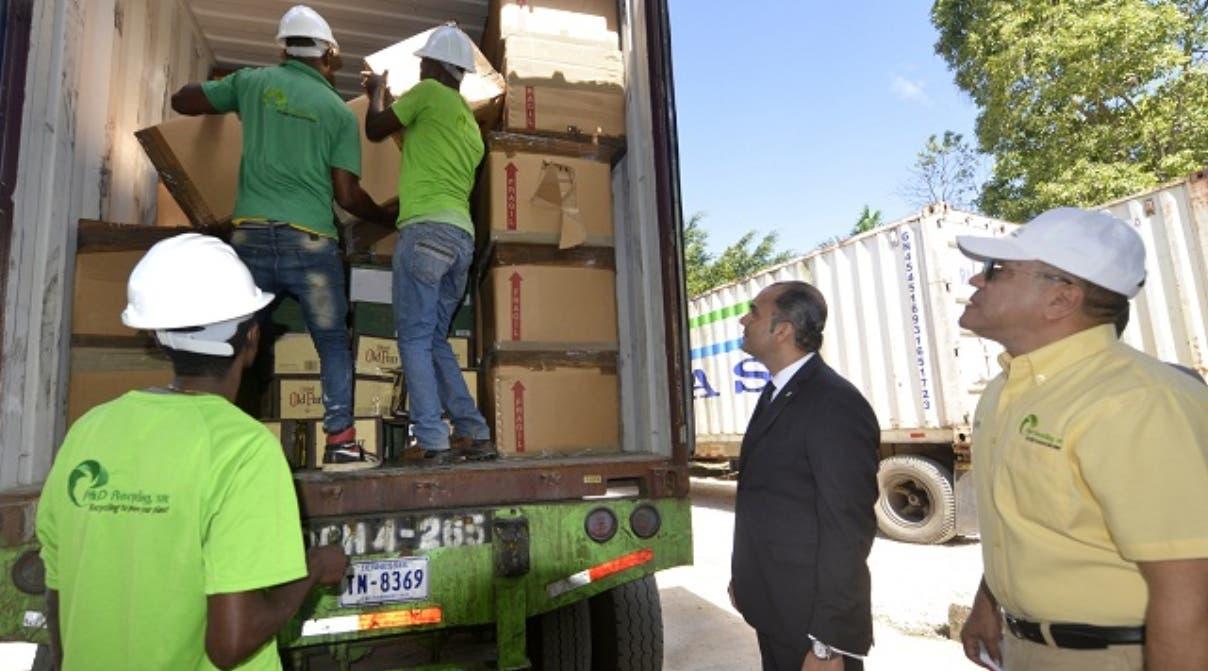 Aduanas destruye mercancías incautadas