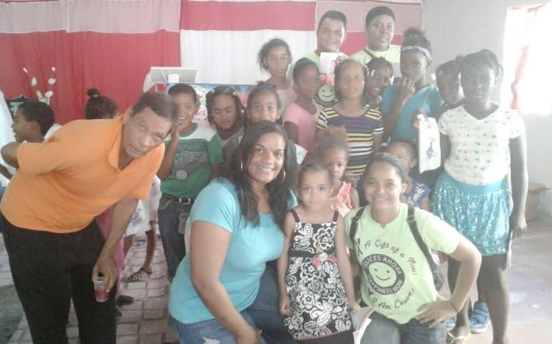 Unos 250 niños fueron capacitados sobre higiene bucal. Fuente externa