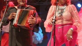 Francisco Ulloa y Fefita La Grande en uno de sus merengues. fuente externa