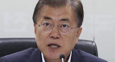 El presidente Moon Jae-in favorece la vía diplomática.