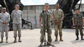 Jefes militares de Estados Unidos insisten en la vía diplomática ante Corea del Norte.