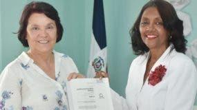 Begonia Salas y Margarita Sosa