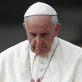 El papa Francisco. AP