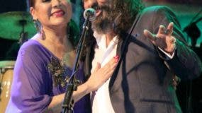 Angela Carrasco y Diego el Cigala en Puerto Plata. Fuente externa