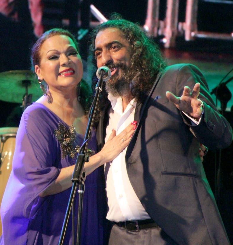 """""""Sentimiento y pasión"""" dieron Ángela Carrasco y Diego El Cigala en concierto"""