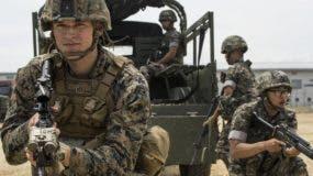 Estados Unidos y Corea de Sur mantienen los entrenamientos. AP