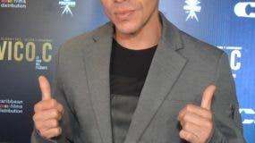 El rapero puertorriqueño Vico C presentó el lunes  su película en República Dominicana. Elvys Joe Sánchez