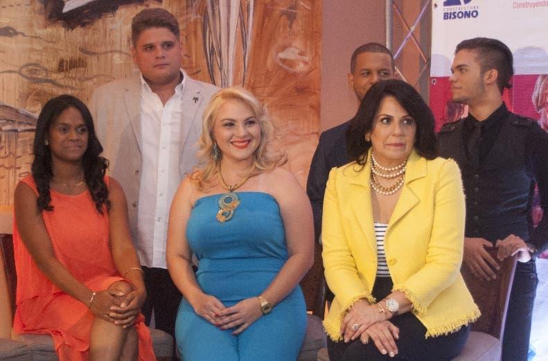"""El elenco del musical """"Anchoítas"""", en rueda de prensa. Archivo"""