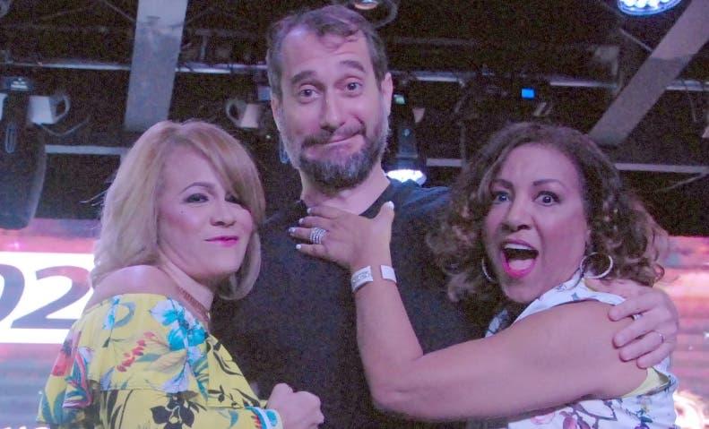 Miriam Cruz, Carlos Sánchez y Milly Quezada.   Joselito Peña