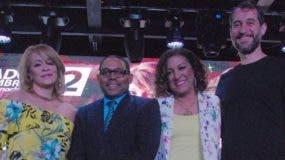 Miriam Cruz, Fasuto Polanco, Milly Quezada y Carlos Sánchez. Fuente externa
