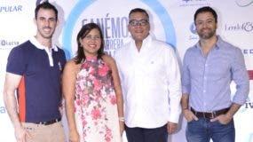Tony Bernal, Cinthya Modesto, José Antonio López y Ricardo Piantini.
