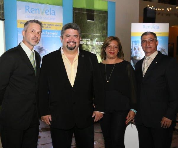 Javier Pirralga, Fabián Ortiz, Margarita Rodríguez y Franklin Ramírez.