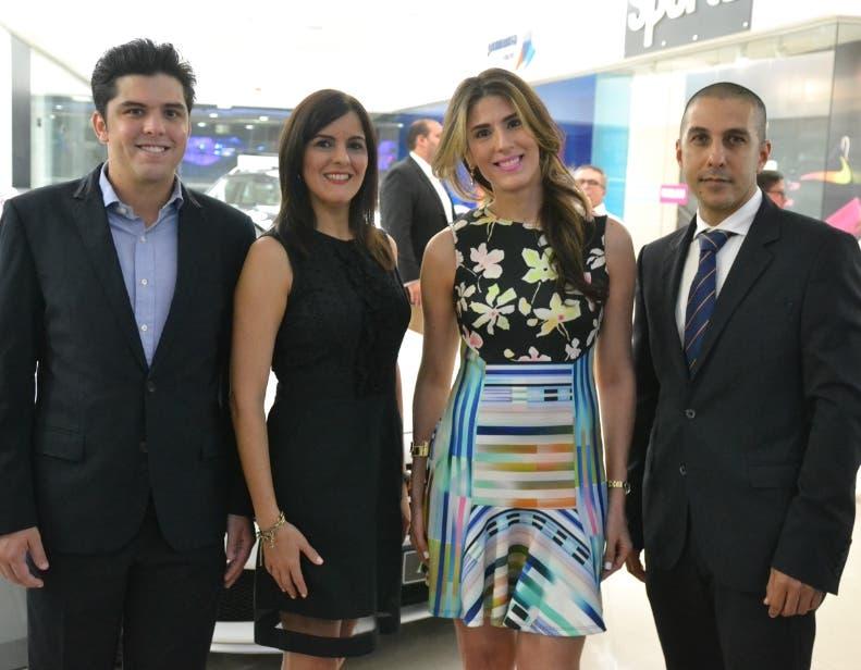 Leonardo Gonzáles, Victoria Soto, Wilda Gutiérrez y Evencio Gonzáles.