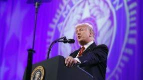 Donald Trump espera que el Senado apruebe la ley para recibir  fondos a corto plazo y evitar así un cierre parcial del gobierno. AP