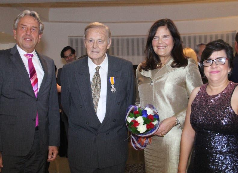 Robert de Leeuw, Sonia De Brouwer, Wilhelm Brouwer y Taiana Mora.