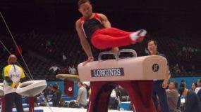Audrys Nin Reyes, durante una de las competencias.