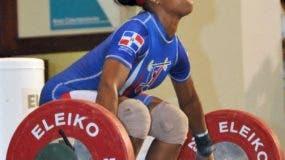 Yafreisy Silvestre trabaja fuerte con el objetivo de conseguir una medalla en los Juegos de Tokio. archivo