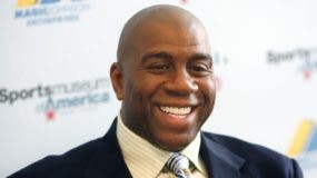 Magic Johnson enfrentaría cargos si la liga encuentra evidencias.  ap