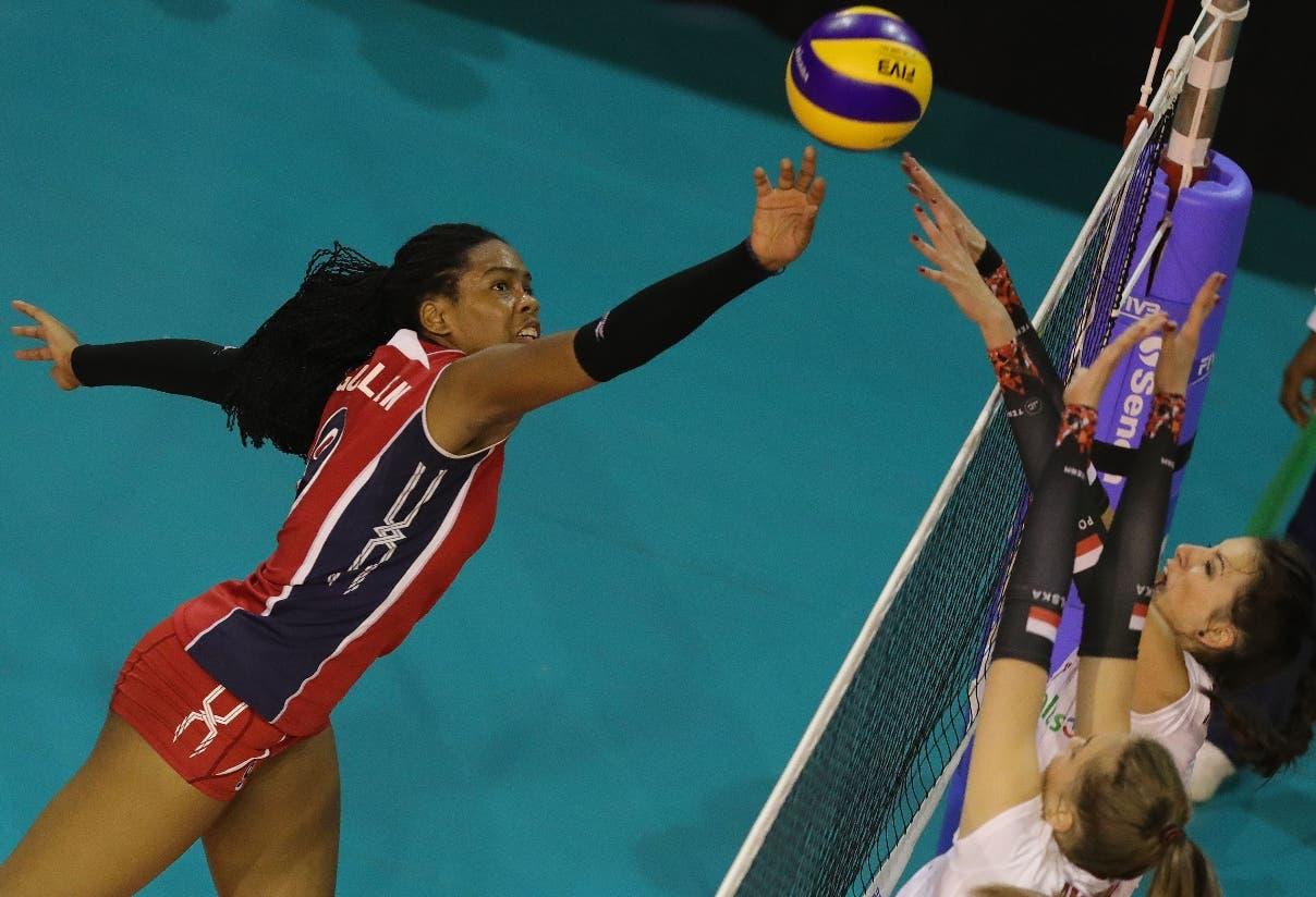 República Dominicana  derrota a Polonia en voleibol Sub-18