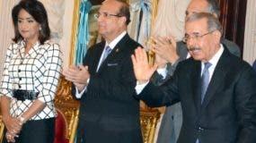 El presidente Danilo Medina encabezó actividad junto a varios funcionarios del Gobierno.