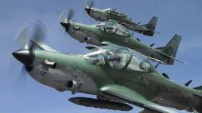 El país adquirió ocho aviones para el combate del narcotráfico. archivo
