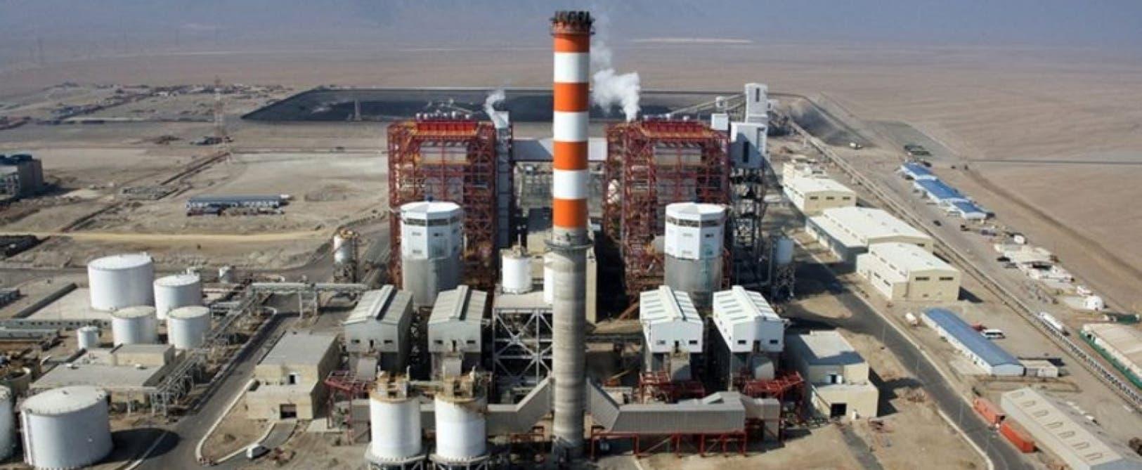La central termoeléctrica de Punta Cantalina comenzó a construirse en el 2014 y debía conluir el año próximo. ARCHIVO