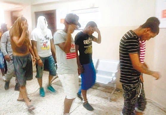 Dos de los imputados fueron enviados a la cárcel del 15 de Azua a cumplir la coerción. Foto tomada del  Periódico Hoy .
